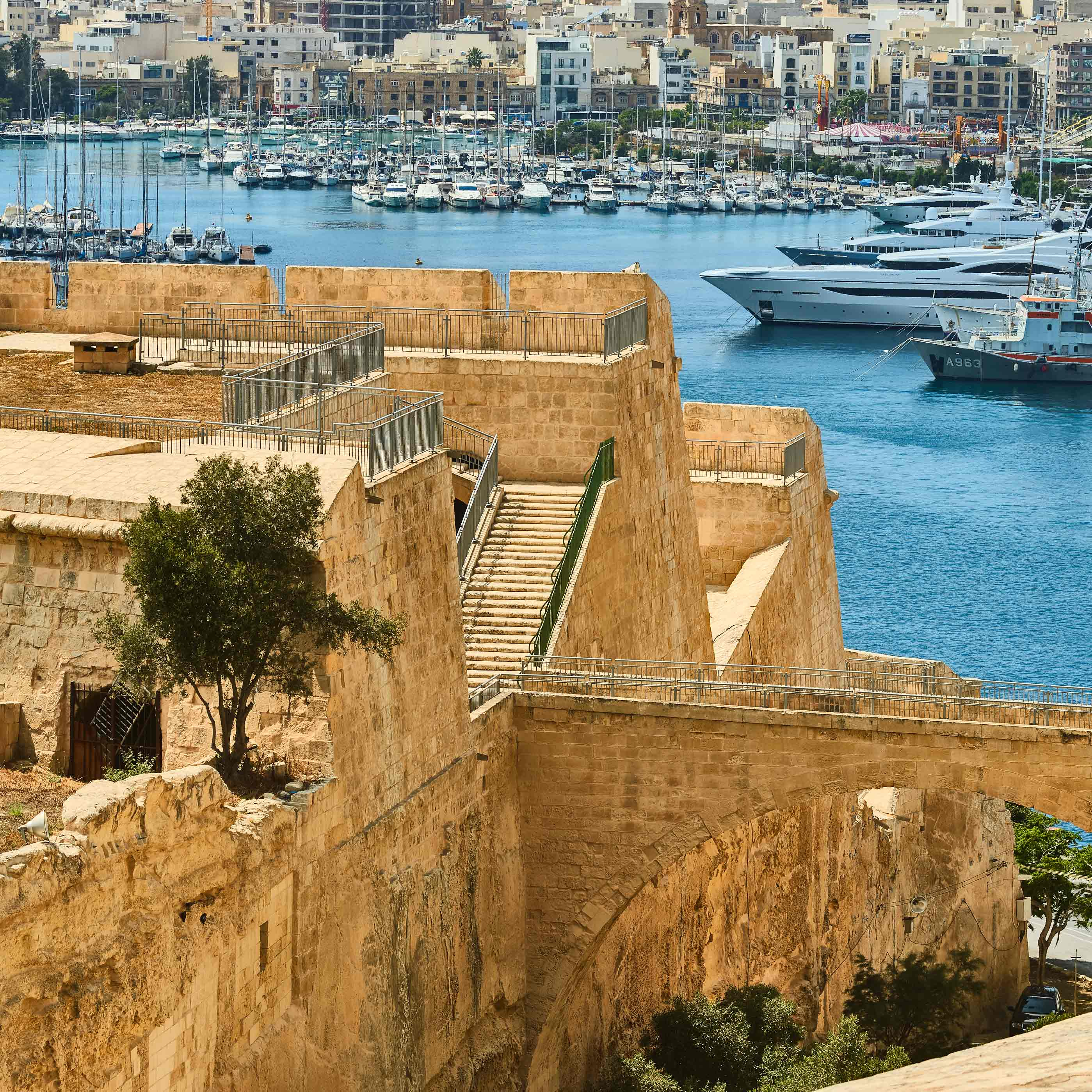 Valletta Landfront fortifications