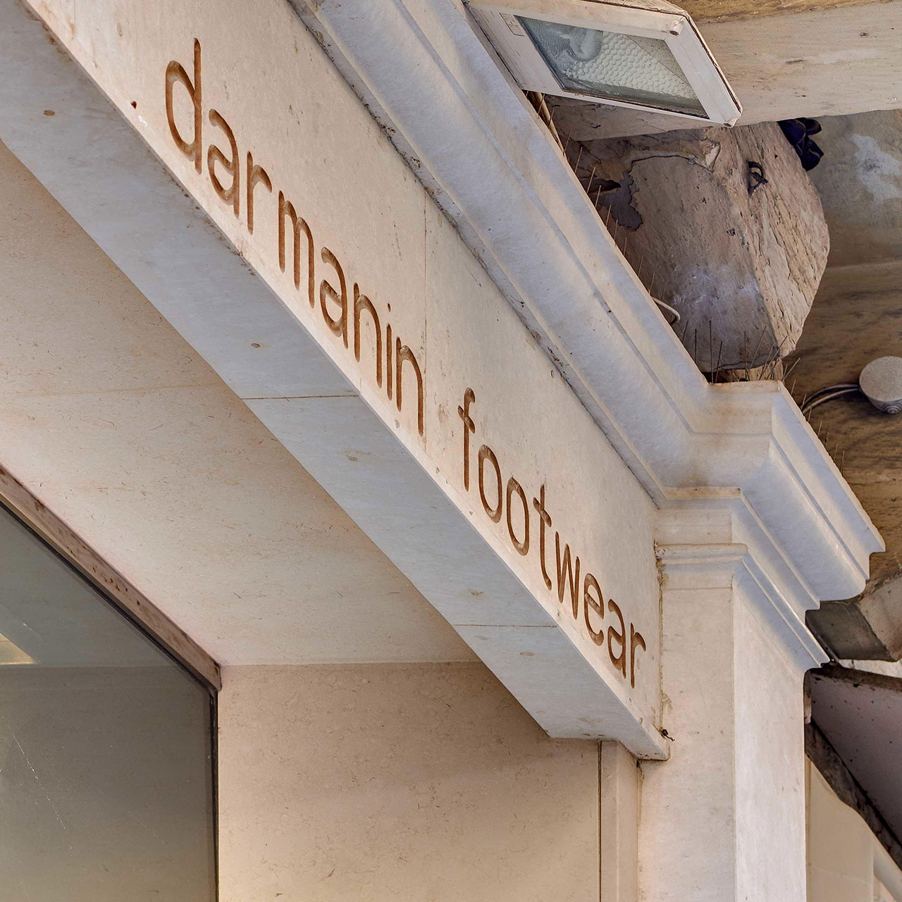 Darmanin Footwear Shop Front
