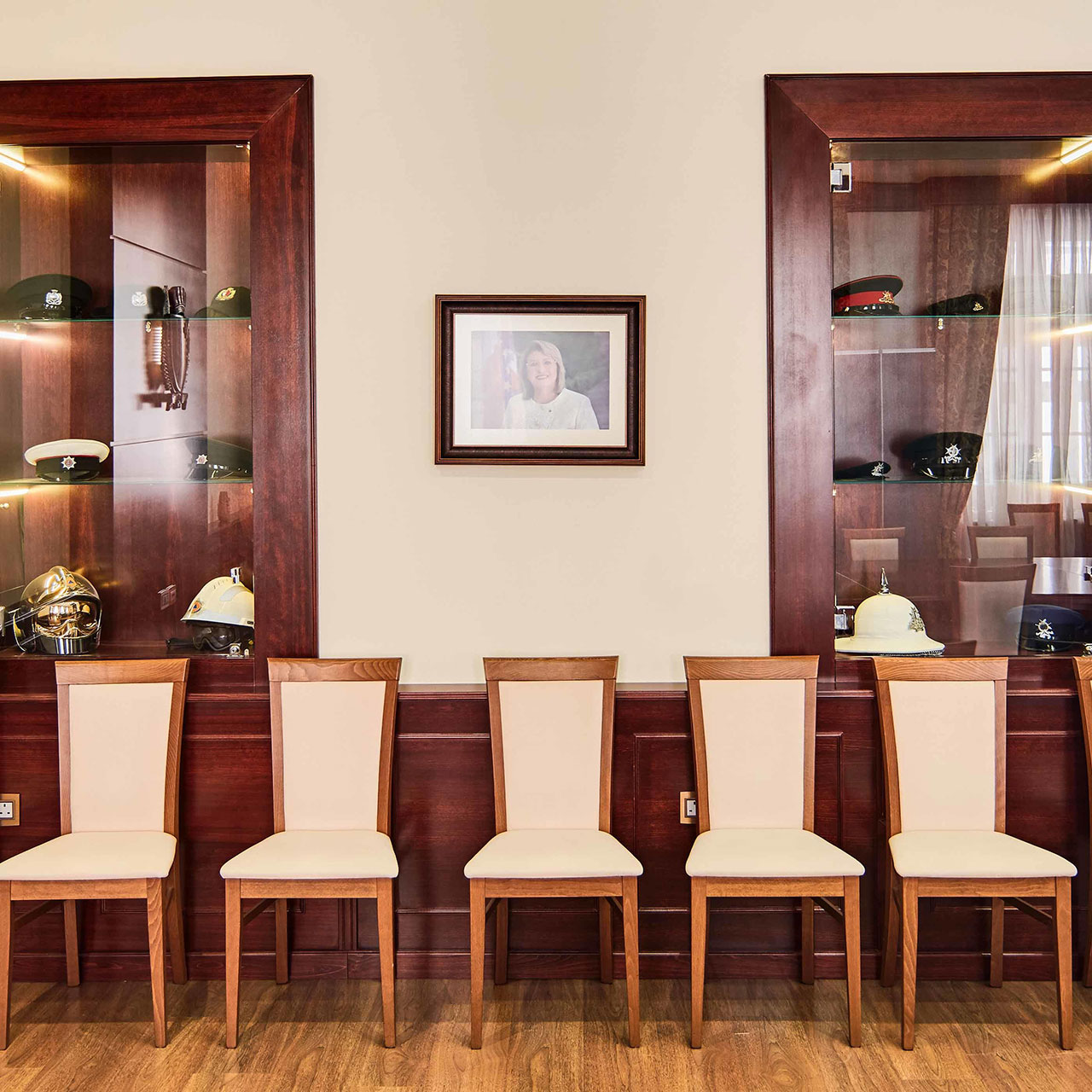 Upgrading Boardroom at Ministry of Home Affairs & National Security